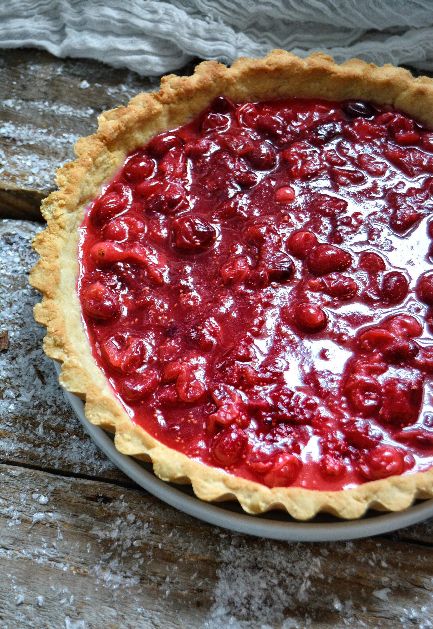 La couche de cranberries