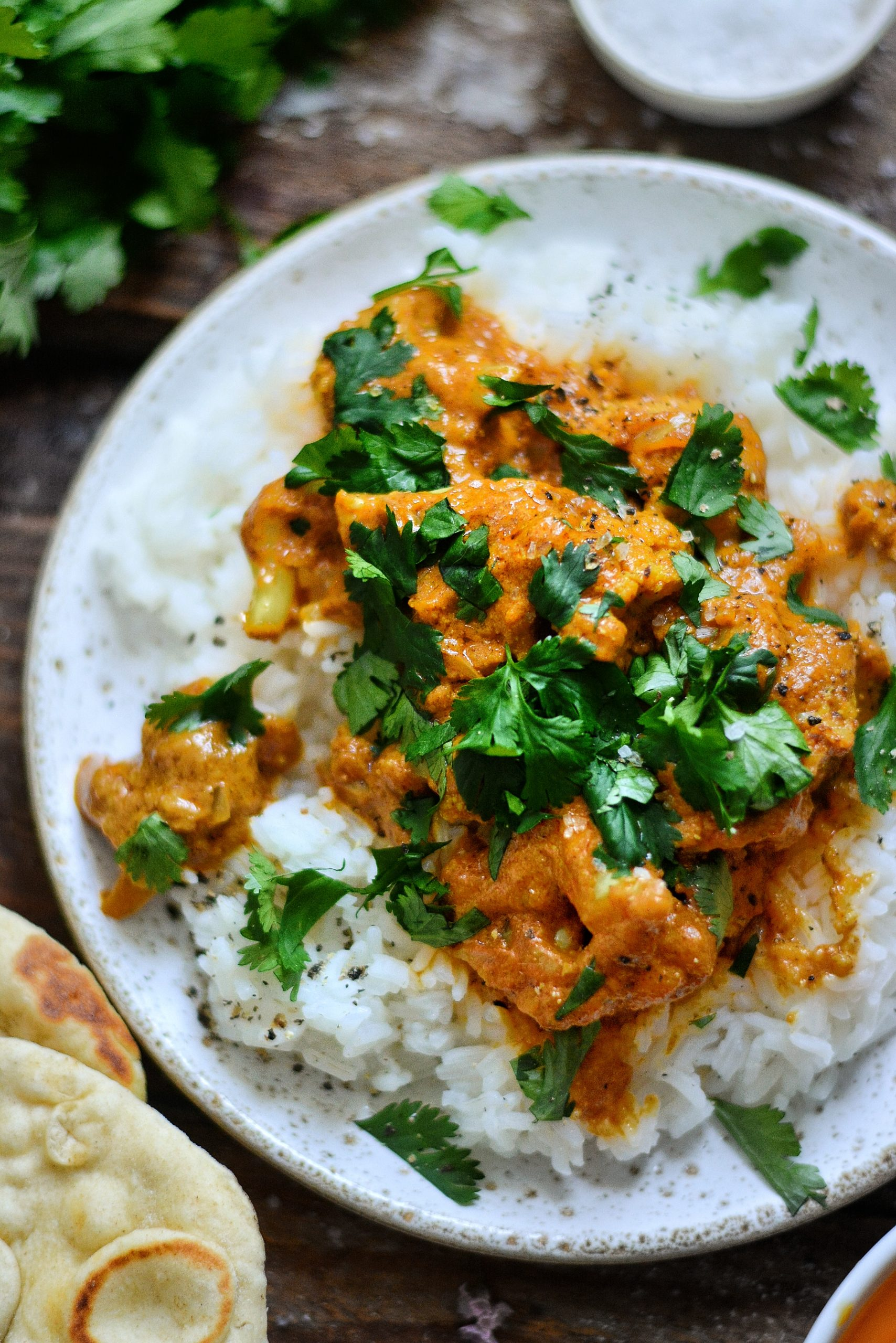 Curry Indien Vegan au Chou-Fleur / Vegan Indian Cauliflower Curry