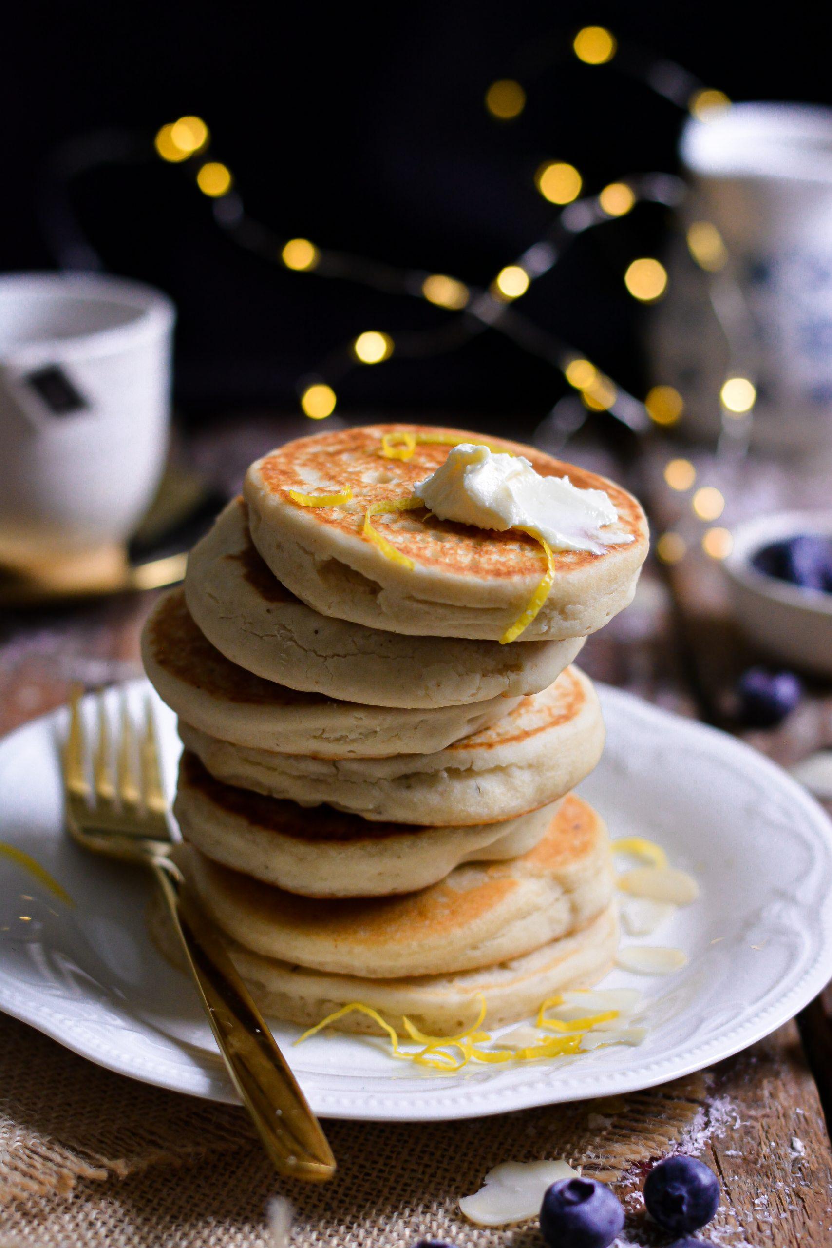 Pancakes Vegan Classiques Sans Gluten / Vegan Classic Gluten Free Pancakes