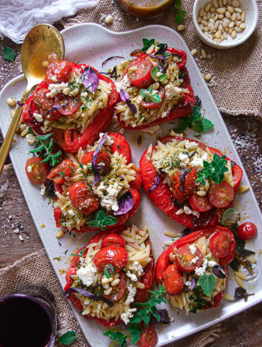 Poivrons Farcis Vegan / Vegan Stuffed Bell Peppers