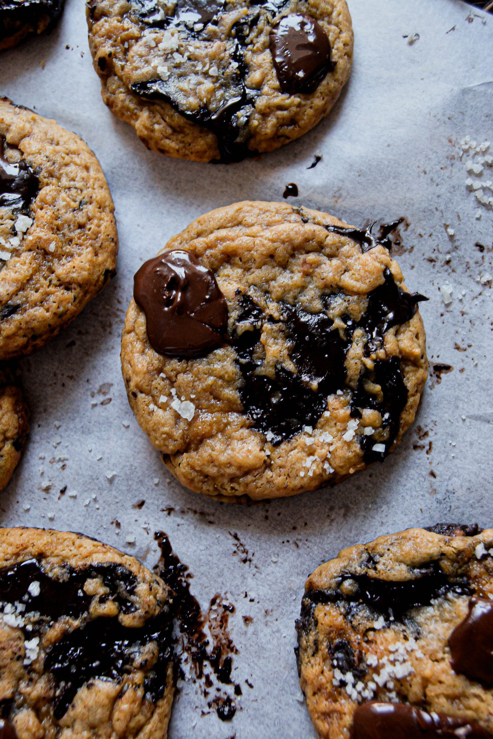 Cookies Vegan au Café & Chocolat / Vegan Chewy Espresso, Chocolate Cookies