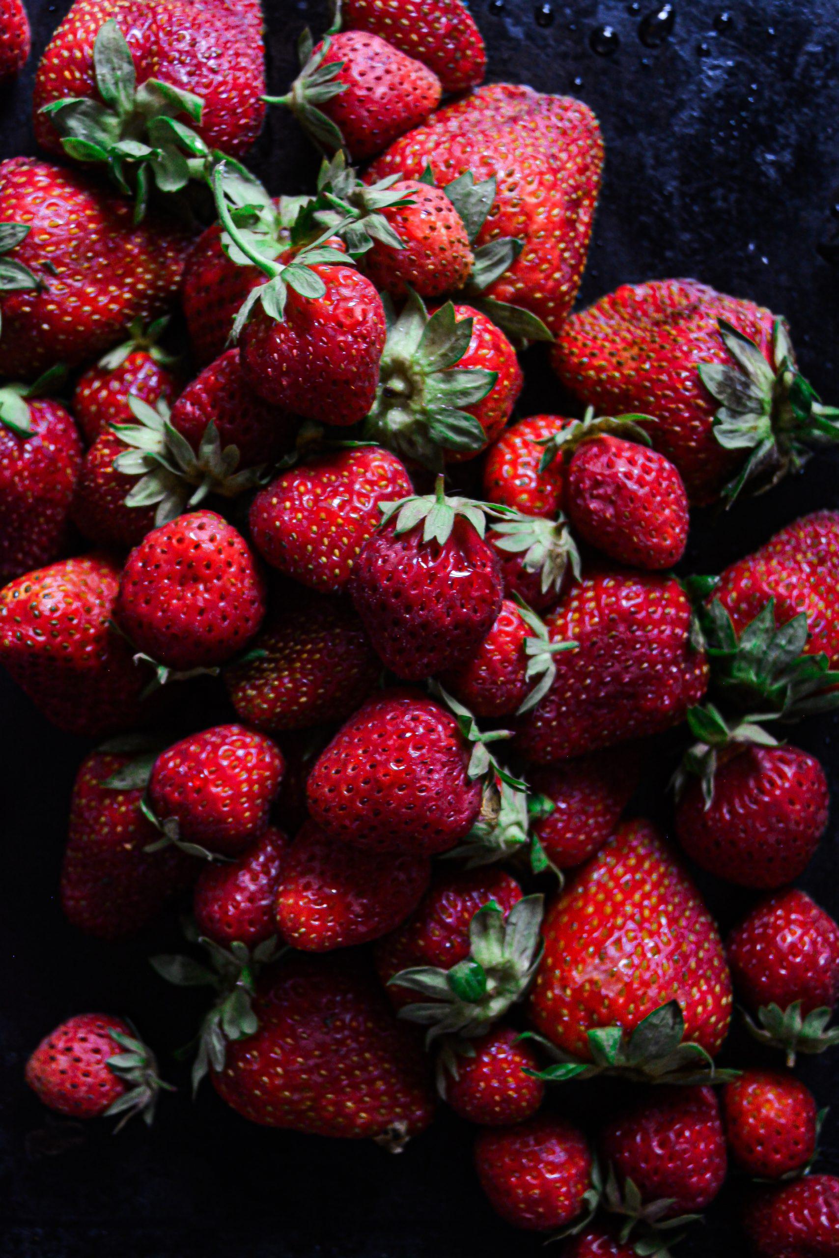 Croustillant Crumble Vegan Fraises, Rhubarbe / Vegan Strawberry, Rhubarb Crisp